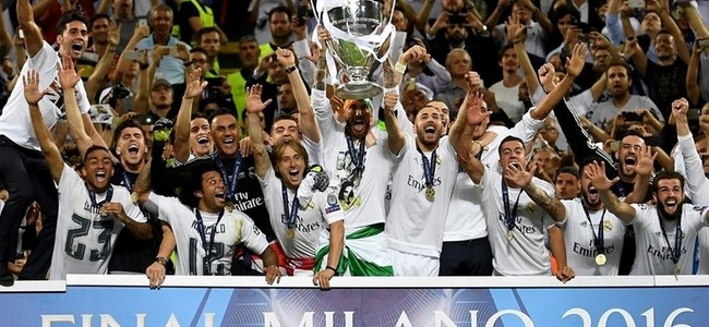 Real Madrid kampion i Europ�s p�r t� 11 her�