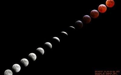 Eklipsi hënorë. Hëna dhuroi spektakël që nuk duhej humbur