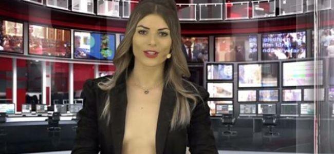 Prezantueset seksi të Zjarr Televizion. Enki Bracaj pozon për Playboy