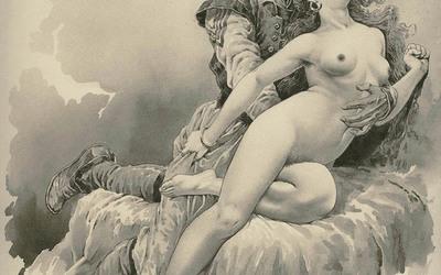 Skicat e Gottfried Sieben: Turqit masakronin meshkujt dhe përdhunonin femrat shqiptare (foto)