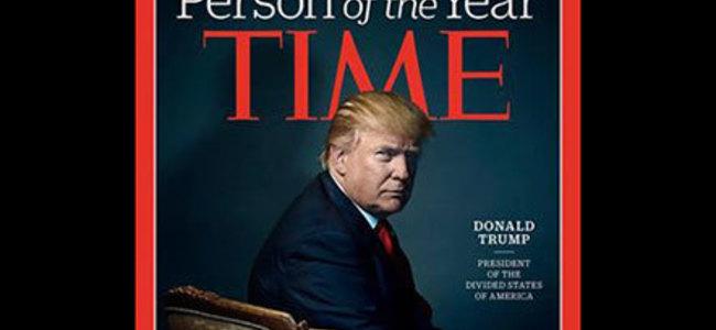 """Revista """"Time"""" zgjedh Donald Trump si njeriun e vitit"""