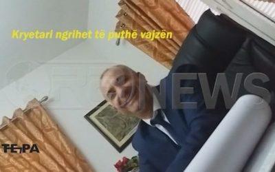 Kryetari i Bashkisë Peshkopi përfshihet në skandal seksual (video)