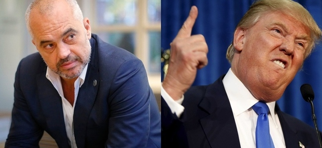 Trump President i SHBA, ja të gjitha deklaratat e Ramës kundër tij