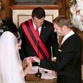 Ceremonia madhështore, Martohet Leka Zogu II dhe Elia Zaharia
