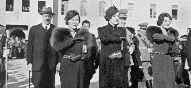 Foto e rrallë/ Motrat e Mbretit Zog në Shkodër, fushatë për emancipimin e grave